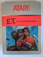 Atari 2600 E.T the extra terrestrial boxed Game
