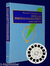 1975 ViewMaster Stereoscopic Atlas Ocular Photocoagulation Eye Book Reels Viewer