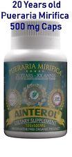 #1 Ainterol Pueraria Mirifica 500mg Breast Enlargement Firm FREE SHIP Worldwide