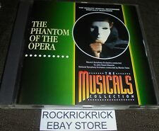 THE PHANTOM OF THE OPERA - THE MUSICALS COLLECTION -12 TRACK CD-