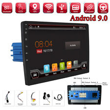 "9"" Android 9.0 1DIN OCTA-CORE RAM 4GB ROM 32G Car GPS Navi MP5 Player Wifi 4G BT"