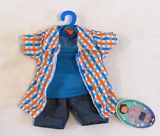 "My Life AG OG 18"" BOY Doll Clothes 2 Shirts 1 pair Shorts set Easter outfit NWT"