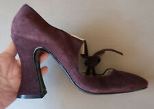 **Vintage Size 40 Biba Italian Made Brown Leather Shoes