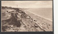 Postcard Southbourne nr Bournemouth Dorset the West Cliff and Sands by J Welch