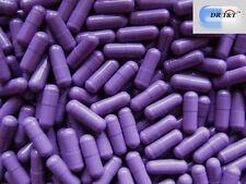 DR T&T 100 capsule vuote in gelatina viola da riempire misura 000 prodotto EU