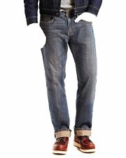 $136 NEW LEVI'S 559 JEANS Men's 40W 30L BLUE JEANS RELAXED FIT FADED DENIM PANTS