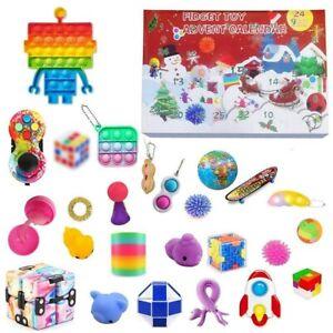 24DAY Christmas Countdown Calendar Fidget Toy Advent Calendar PRE ORDER Calendar