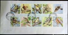GB 2017 Commemorative Set of very fine used Song Birds Stamps
