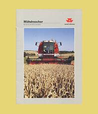 Massey Ferguson Mähdrescher MF 30  32  34 36RS  38  40RS Original 1992