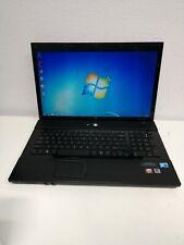 "HP Probook 4710s laptop 17"" Intel Core 2Duo 2.1GHz 4GB 320GB HDD DVD Win7+Office"