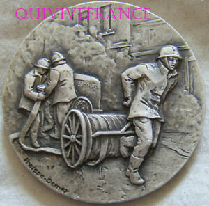 MED11184 - Medal Sappers Firefighters Juvisy On Barley
