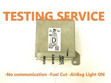 MAZDA GS1D-57K30 5WK43763 AIRBAG ECU SRS MODULE NO COMMUNICATION TESTING SERVICE