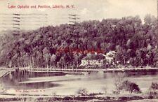 1907 LAKE OPHELIA AND PAVILION, LIBERTY, N.Y.