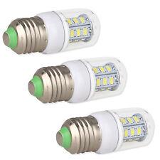 3PCS E26 E27 7 Watt LED Corn Bulb Light Cool White 6000K Lamp AC 110V For Home