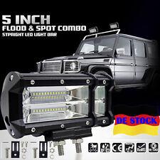 5 inch 72W LED Offroad Auto LKW PKW Boot Arbeit Licht Bar Flut Spot Fahren Lampe
