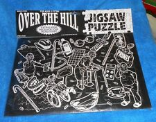 "Forum Novelties ""Over the Hill"" Jigsaw Puzzle - Item #51227 - NEW in Pkg."