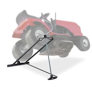 Rasentraktor Hebevorrichtung 400 kg Rasenmäherheber Kippvorrichtung Aufsitzmäher