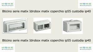 Bticino serie matix Idrobox matix coperchio ip55 custodia ip40