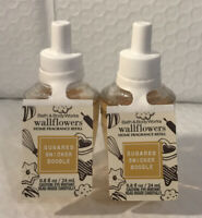Bath And Body Works 2 Bottles Of Sugared Snickerdoodle Wallflower Refills