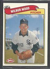 1989 Swell Baseball Greats - #127 - Wilbur Wood - Chicago White Sox
