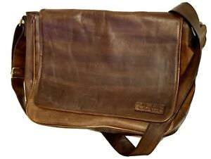 Cole Haan Leather Briefcase Messenger Bag