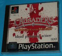 Crusaders of Might and Magic - Sony Playstation - PS1 PSX - PAL