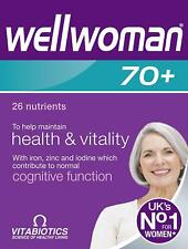 Vitabiotics Wellwoman 70+ Tablets 30s