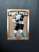 2006-07 OPC Marquee Rookies #595 Joe Pavelski San Jose Sharks O Pee Chee RC
