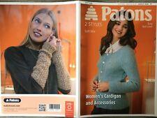 "Patons Knitting Pattern: Ladies Cardigan & Armlets, DK, 34-47"", 4036"