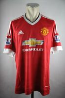 Manchester United Trikot Gr. XL 2015-16 #7 Memphis Patch Home Adidas ManU