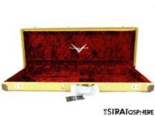 USA Fender CUSTOM SHOP Strat Tele Tweed G+G HARDSHELL CASE from 1952 NOS Tele!
