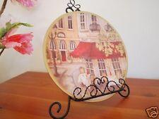 Ceramic Decoration Plate Memories Of Paris 21cm B