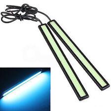 12V LED COB Car DRL Driving Daytime Running Lamp Fog Light Bars Ice Blue 17cm