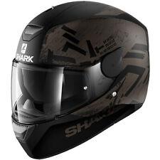 SHARK HE4007KAK HELMET MOTORBIKE FULL-FACE D-SKWAL HIWO BLACK SZ XL