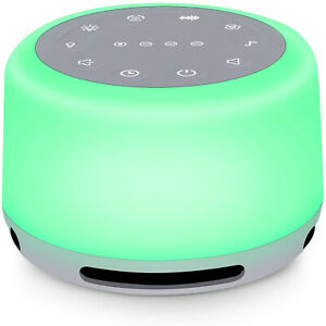 Sleep Sound Machine 24 Sounds Rechargeable White Noise Machine with Night Light