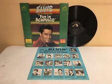 Elvis Fun in Acapulco LP 1963 RCA Records LPM-2756(VG+ Vinyl)1st Press In Shrink