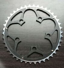 NEW Bicycle Chainring 42T, 94mm BCD, 5 Bolt, 8-10 Speed, Alloy, Ramped, Black