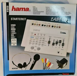 Classic Hama Easy Cut Video Editing Station For Retro Video Recorders NEW OPENED