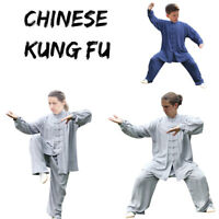 Cotton Kung fu Taichi Tai chi Uniform Martial arts Wushu Taiji Wing Chun Suit