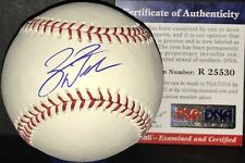 Zack Wheeler Phillies Mets PSA DNA ROOKIE COA Autographed Signed Baseball B