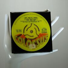 The Tee Set - Music Drink Coaster Made with The Original 45 rpm Record