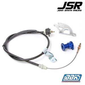 96-04 Mustang (all) BBK Adjustable Clutch Cable Quadrant & Firewall Adjuster Kit