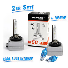 Vertex d1s 5500k Xenon extra Power +50% 2st. + 2 x OSRAM w5w cool blue intense