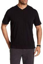Robert Graham Men's XL Albie Short Sleeve Tee Black Rssi77052cf