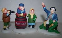 """""""The OLD MAN & The SEA"""" #56553 Department 56 HERITAGE VILLAGE 3pc. Old New Stock"""