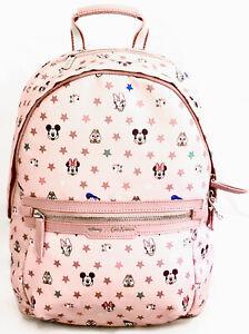 Cath Kidston Disney Mickey Mouse Pink Backpack 90 Anniversary Birthday Rucksack
