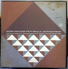 Dr Jose Rodrigues Migueis - Modern Portuguese Poetry LP VG+ FL 9915 Vinyl 1961