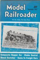 "[75488] ""MODEL RAILROADER"" MAGAZINE - Vol. 14, No. 9 (SEPTEMBER 1947)"