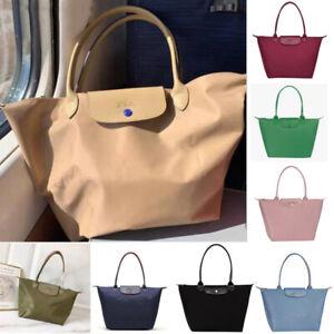 New Longchamp Le Pliage Tote Bag Nylon Travel Handbag Large and Medium and Small