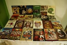 RARE LOT BY NFL ST LOUIS CARDINALS 24 MEDIA GUIDE PROGRAM PRESS BOOK FOOTBALL